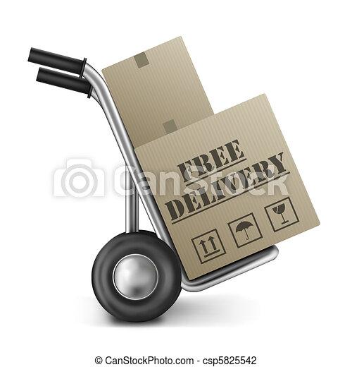 bo te gratuite camion livraison sac carton magasin colis brun paquet envoi exp dition. Black Bedroom Furniture Sets. Home Design Ideas