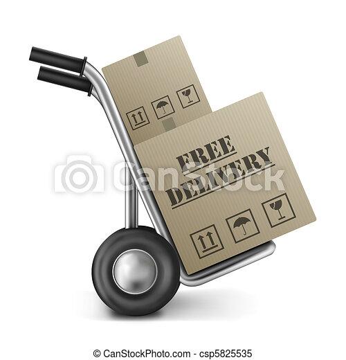 bo te gratuite main camion livraison carton magasin illustrations de stock rechercher. Black Bedroom Furniture Sets. Home Design Ideas