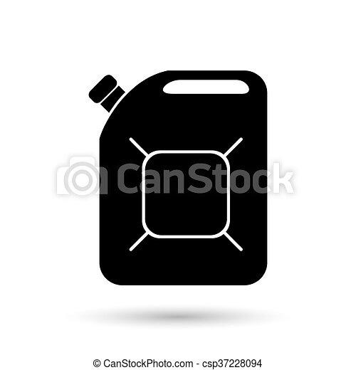 boîte métallique, icône - csp37228094