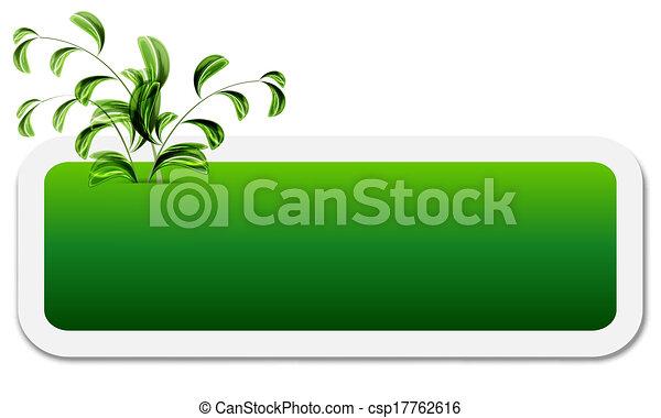 boîte, texte - csp17762616