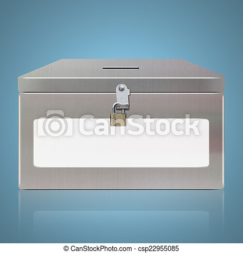 boîte, vote - csp22955085