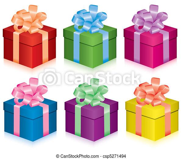 boîtes, cadeau - csp5271494