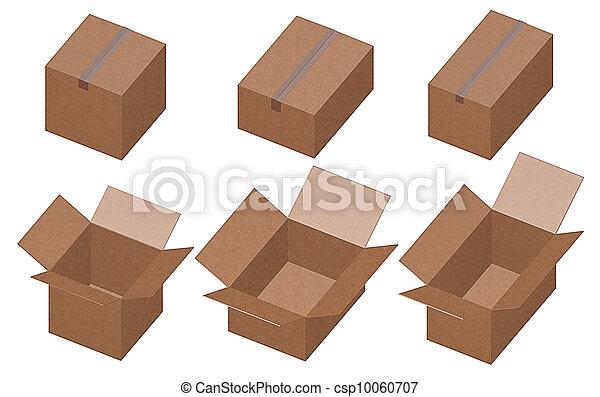 boîtes, carton - csp10060707