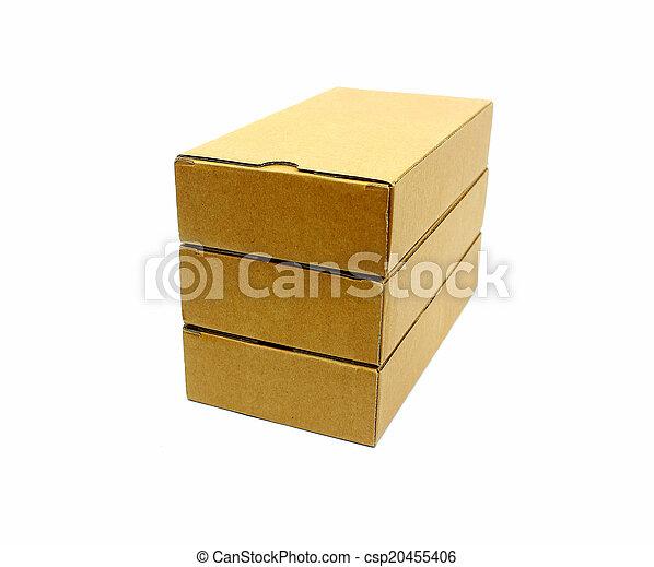 boîtes, carton - csp20455406