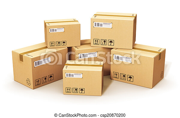 boîtes, carton - csp20870200
