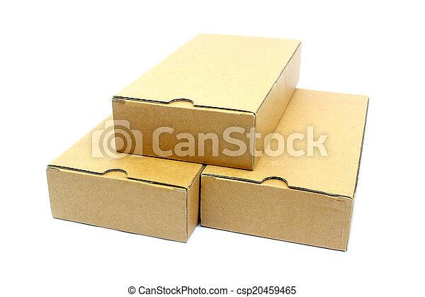boîtes, carton - csp20459465