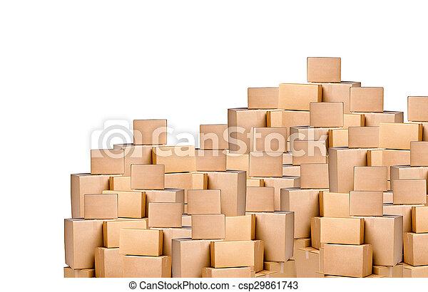 boîtes, carton - csp29861743