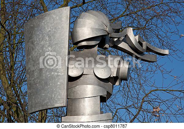 boadicea, estatua - csp8011787