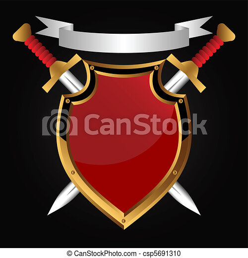Board and sword. - csp5691310