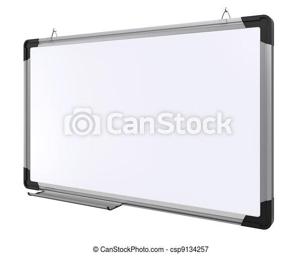 board., interpretazione, magnetico, ufficio, 3d - csp9134257