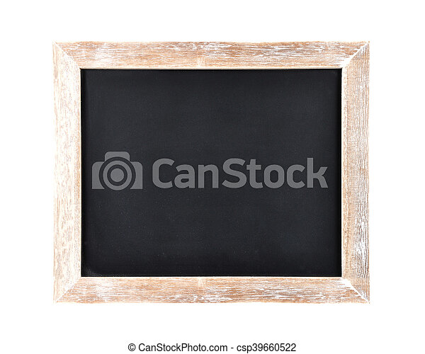 Board on white background - csp39660522