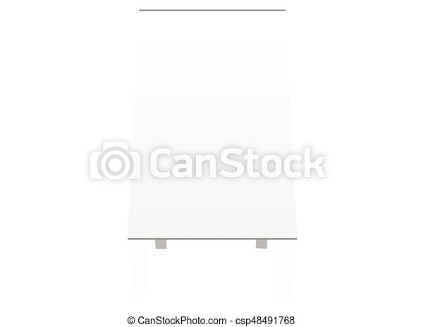 board silhouette on white background - csp48491768