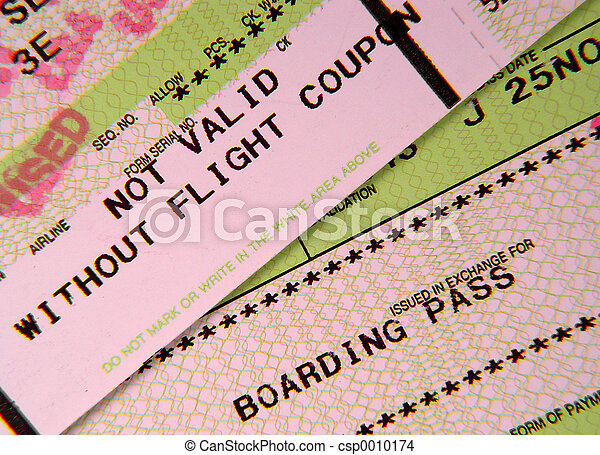 Boarding Pass 2 - csp0010174
