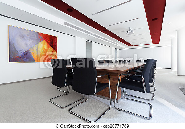Boardroom in the business centre - csp26771789