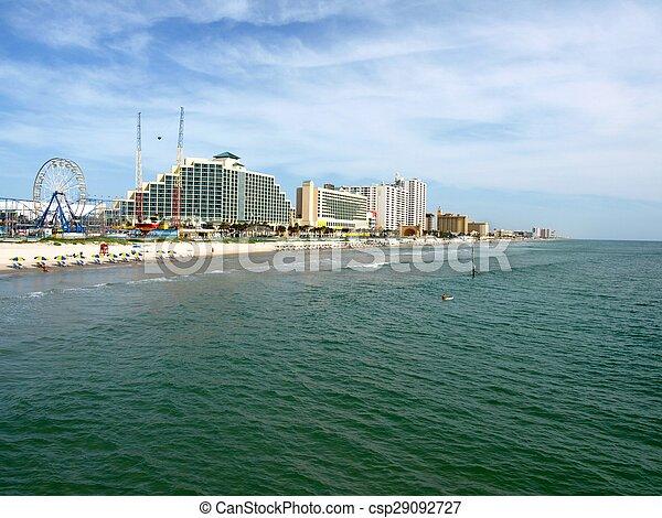 Boardwalk on the Beach - csp29092727