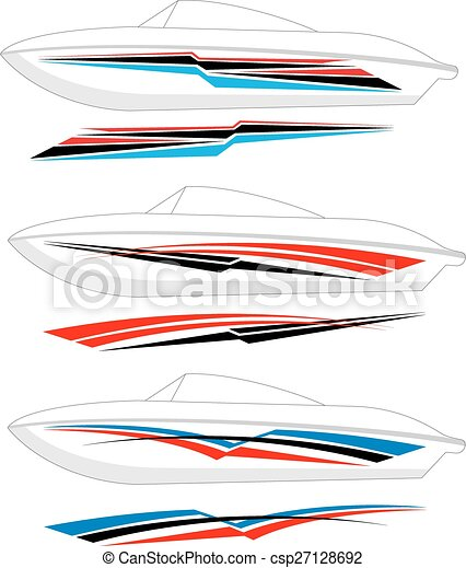 Boat Graphics, Stripe : Vinyl Ready - csp27128692