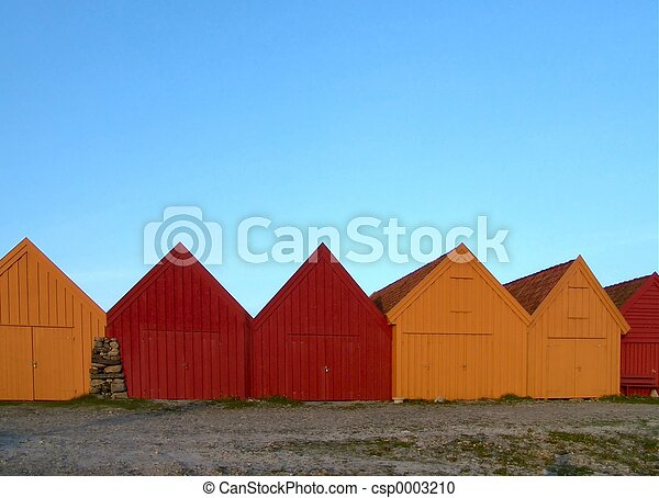 Boat Houses - csp0003210