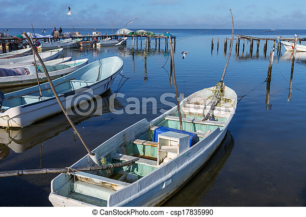 Boat in Mexico - csp17835990