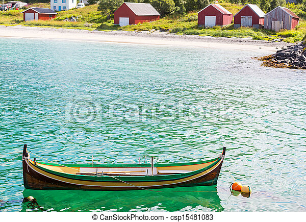 Boat in Norway - csp15481083