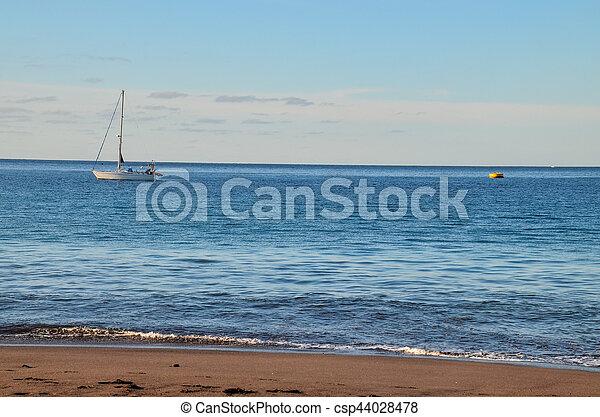 Boat in the Ocean - csp44028478