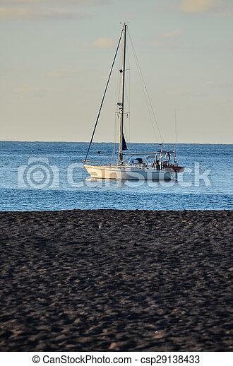 Boat in the Ocean - csp29138433