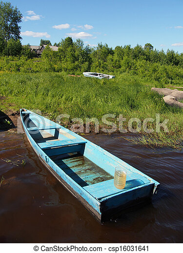 Boat on the River - csp16031641