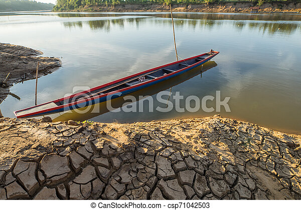 boat on the river - csp71042503