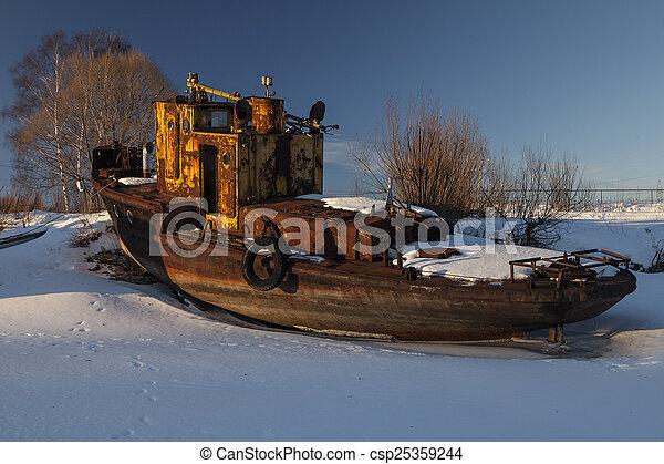boat - csp25359244