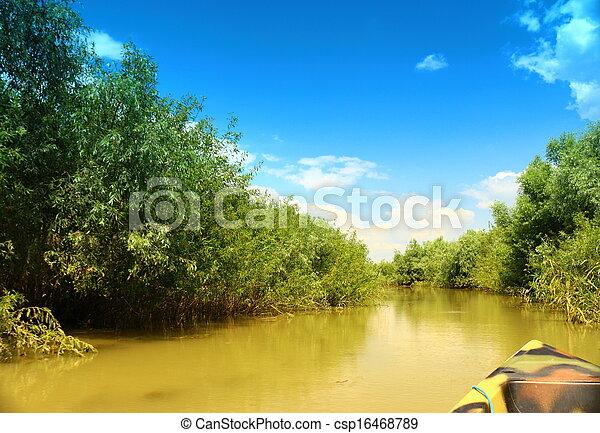 Boat Trip - csp16468789