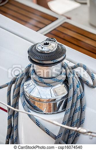 Boat winch - csp16074540