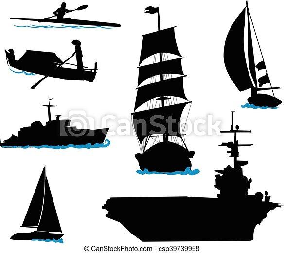 Boats-3 - csp39739958