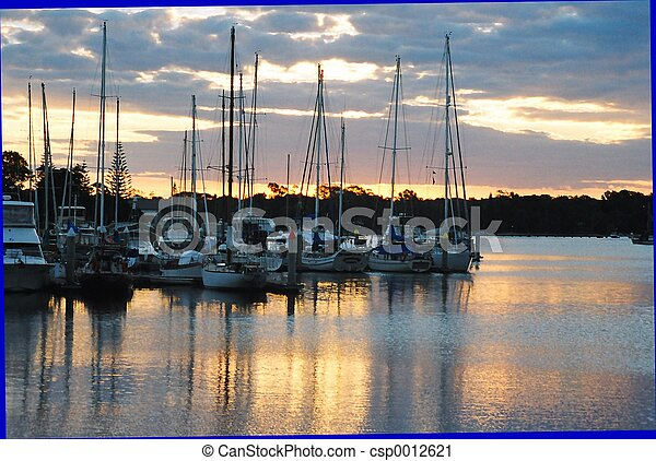 Boats at rest (1) - csp0012621