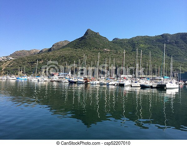 Boats in Houtbay - csp52207010