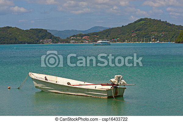 boats near shore - csp16433722
