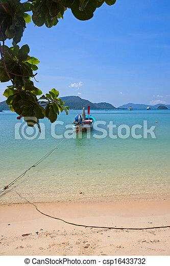 boats near shore - csp16433732