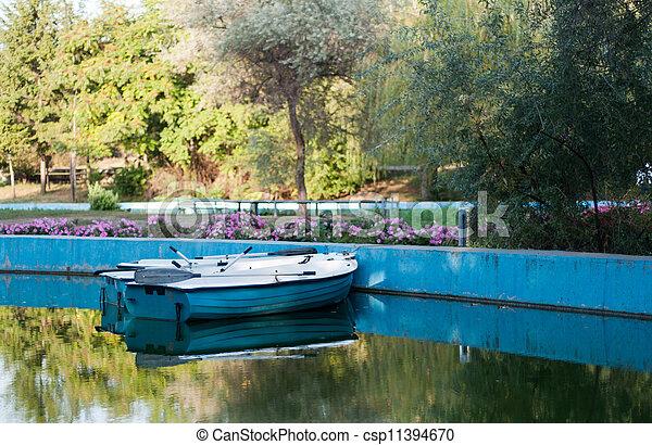 boats near the shore - csp11394670