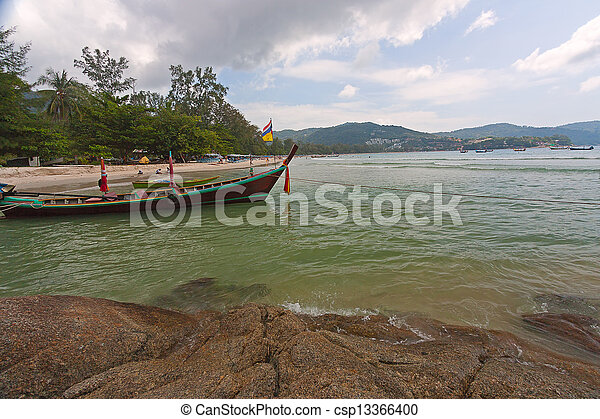 boats on shore - csp13366400