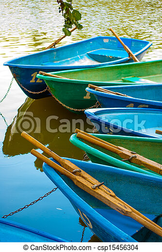 boats on shore - csp15456304