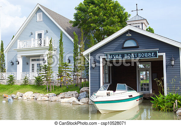 Boatshed - csp10528071