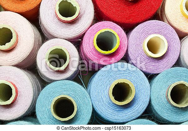 Bobbins of thread - csp15163073