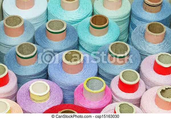 Bobbins of thread - csp15163030