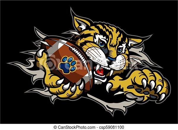 bobcat football - csp59081100