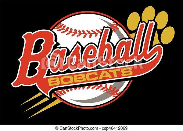 bobcats baseball - csp46412069