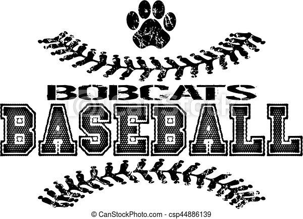 bobcats baseball - csp44886139