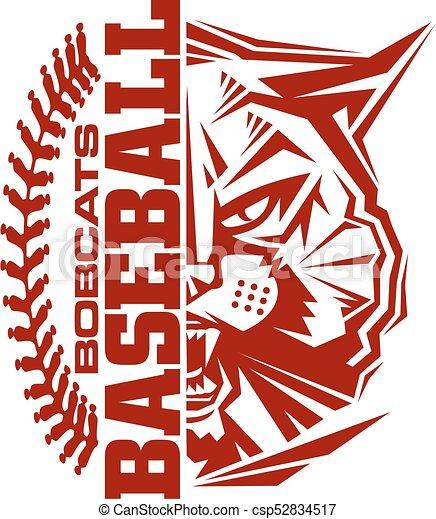bobcats baseball - csp52834517