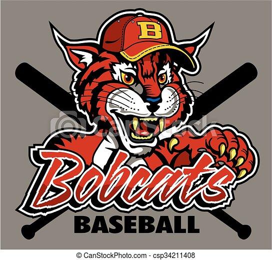 bobcats baseball - csp34211408
