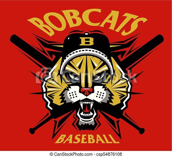 bobcats baseball - csp54876108