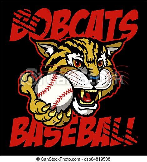 bobcats baseball - csp64819508