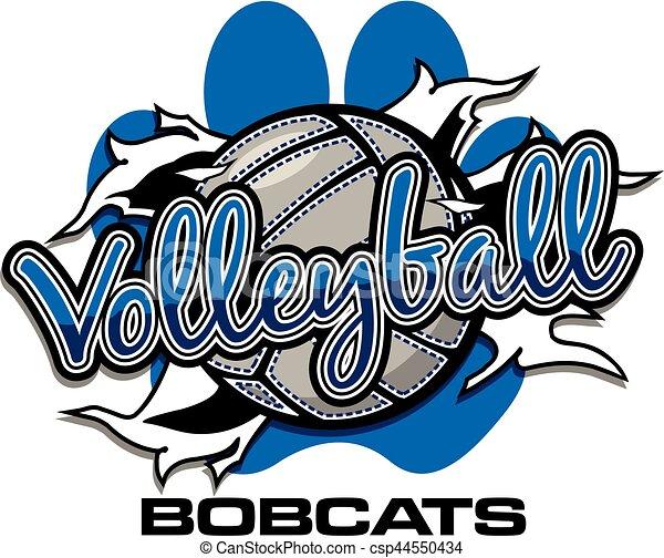 bobcats volleyball - csp44550434