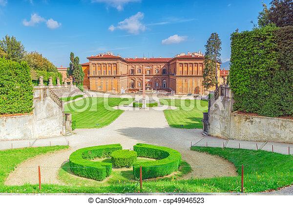Boboli gardens (giardino di boboli) in florence - city of the ...